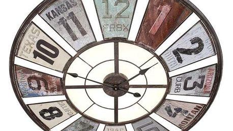 Emako Nástěnné hodiny ANTIQUE - kulaté Ø 80 cm