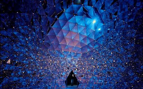 Innsbruck a magické muzeum krystalů Swarovski, Tyrolsko