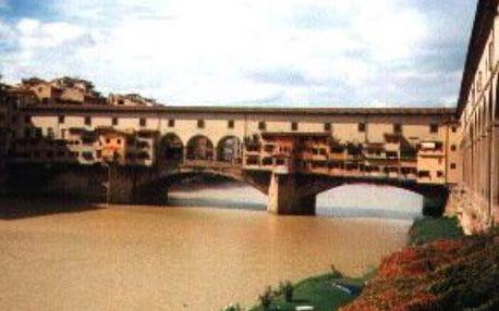 Itálie - Florencie autobusem na 4 dny, strava dle programu