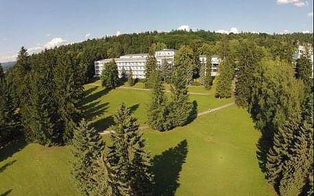 Lázně SLIAČ - Relaxační pobyty Krátký relax nebo Zdravé srdce v hotelu Palace s polopenzí a procedurami