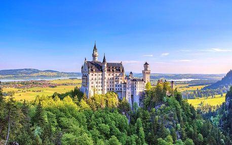 Neuschwanstein a Linderhof - zámky šíleného krále, Bavorsko