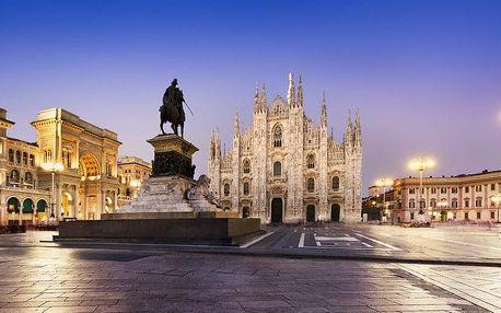 Miláno - památky, umění i nákupy italské módy, Lombardie
