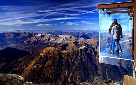 Cesta do nebe - hora Mont Blanc, Chamonix a Ženeva, Savojsko