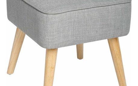 Atmosphera Créateur d'intérieur Taburet s pohodlným sedákem, čalouněná stolička se skvěle uplatní v každé místnosti