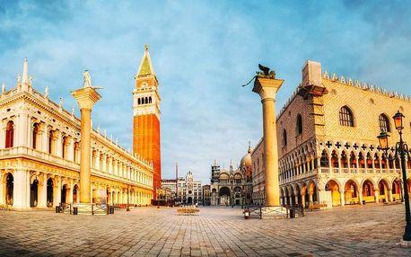 Benátky a plavba na ostrov krajek Burano, Benátsko