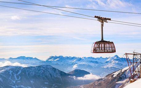 Savojské Alpy - hora Mont Blanc, Chamonix a městečko Annecy, Savojsko