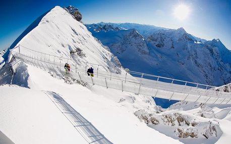 Visutý most na hoře Titlis, Engelberg a historický Luzern, Urnské Alpy