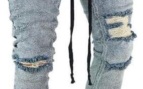 Pánské trhané džíny - dodání do 2 dnů