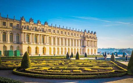 Víkend v Paříži a zámek Versailles s královskými zahradami, Île-de-France