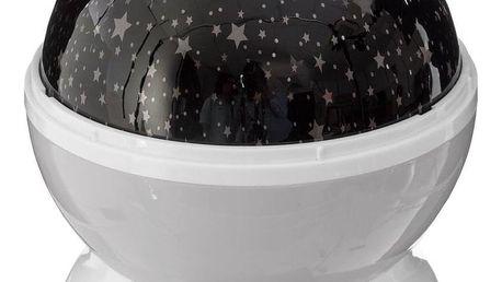 Atmosphera for kids Noční projektor, šedý, který promění strop každého dětského pokoje na hvězdnou noční oblohu