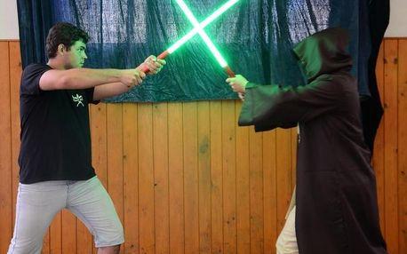 Výcvik boje se světelným mečem aneb rytířem Jedi na zkoušku