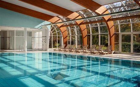 Karlovy Vary: Spa Resort Sanssouci **** s polopenzí, wellness a procedurami