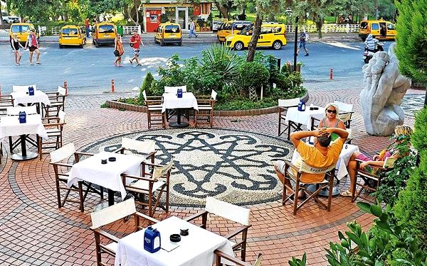 Caligo Apart Hotel, Turecká riviéra, letecky, snídaně v ceně3