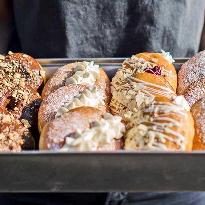 Otevřený voucher do Just Donut v hodnotě 200 Kč
