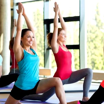 1–5 skupinových lekcí v dámském fitness Red Fit