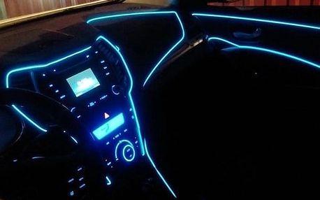 Dekorační LED pásek do auta - Bílá-2m - dodání do 2 dnů