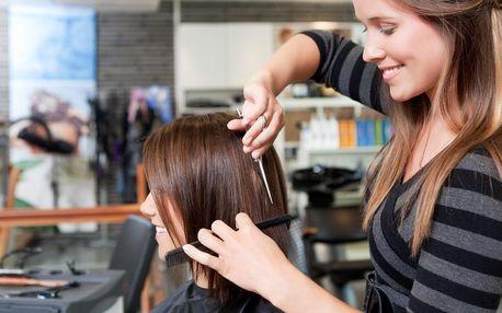 Ozdravné žehlení vlasů i s profesionálním střihem