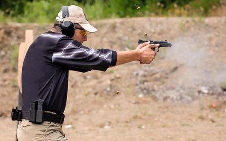 Naučte se bránit střelci - trénink sebeobrany, střelby a hlavně psychické odolnosti