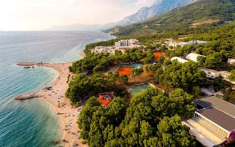Chorvatsko, Makarska | Hotel Valamar Rivijera** | Dítě do 12 let zdarma | Polopenze