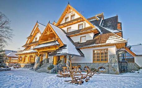 Polské Tatry u skicenter v Hotelu Toporow Style *** se snídaní + wellness