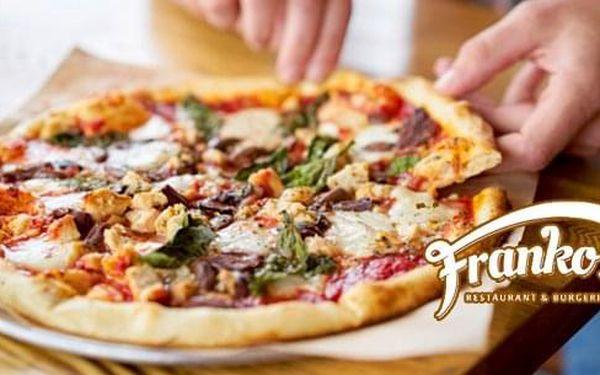 2x pizza dle vlastního výběru o průměru 32 cm4