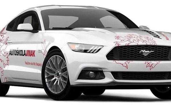 Řidičák nanečisto ve Fordu Mustang, Most, 1 osoba, 45 minut4