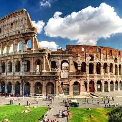 Okruh Itálie za 6 dní. Z Říma na sever přes Benátky, Veronu, Florencii a Lago di Garda