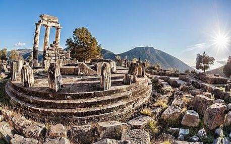 Řecko - Athény letecky na 5 dnů, snídaně v ceně