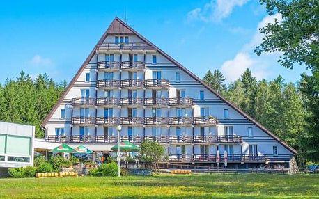 Vysočina u CHKO Žďárske vrchy v Hotelu SKI *** s polopenzí a skvělým wellness s bazénem