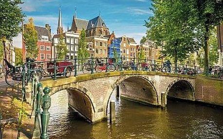 Nizozemsko - Amsterdam letecky na 4 dny, snídaně v ceně