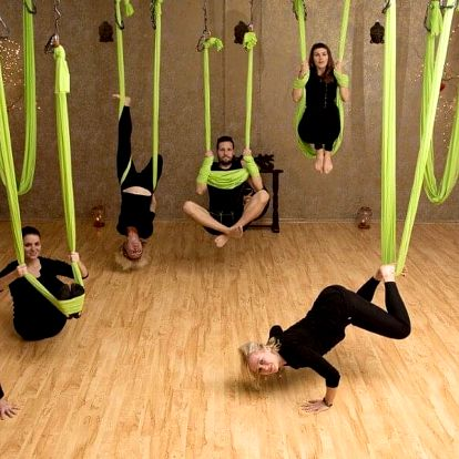 Permice na AntiGravity® fitness, Fit & Stretch i jógu