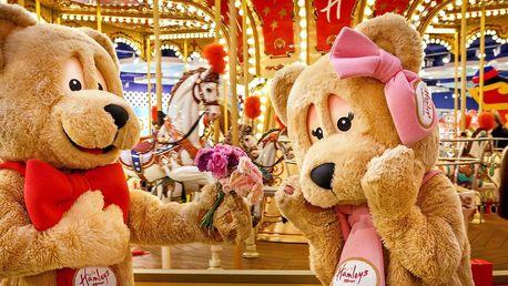 Atrakce a hračky v Hamleys: voucher až na 2000 Kč