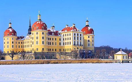 Vlakem na zámek Moritzburg za Popelkou a do Drážďan