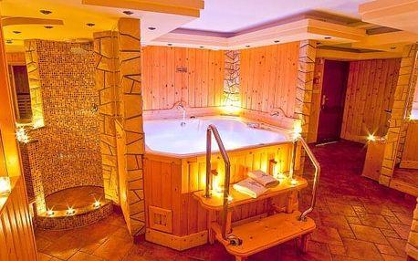Polské Beskydy blízko lyžařského areálu v elegantním Hotelu Alpin *** s polopenzí a privátním wellness