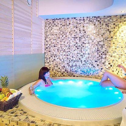 Jižní Čechy ve 4* hotelu s neomezenou saunou, privátním wellness a polopenzí + dítě do 7,9 let zdarma