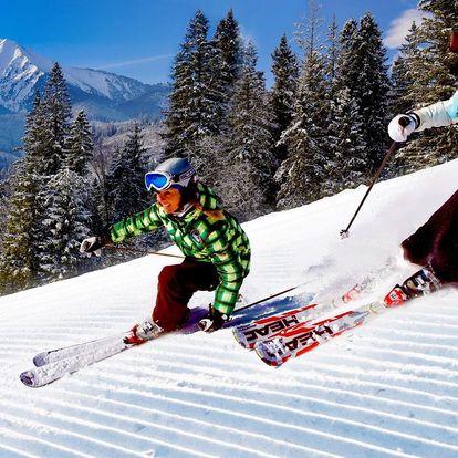 OKAMŽITÁ PLATNOST: Lyžování ve Ski Monkova dolina