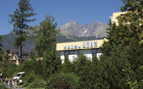 Wellness pobyt Urania s denním vstupem do wellness, Vysoké Tatry