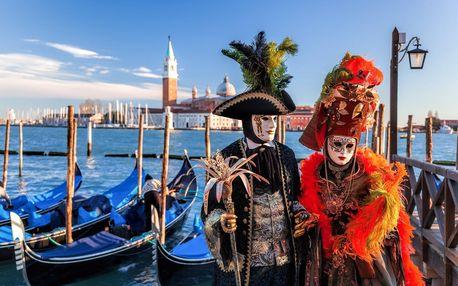 Poznávací zájezd na Karneval v Benátkách