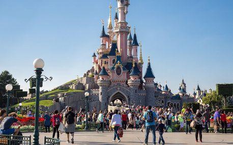 3denní zájezd do Paříže s návštěvou Disneylandu