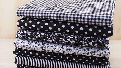 Látka na patchwork nebo na šití - dodání do 2 dnů