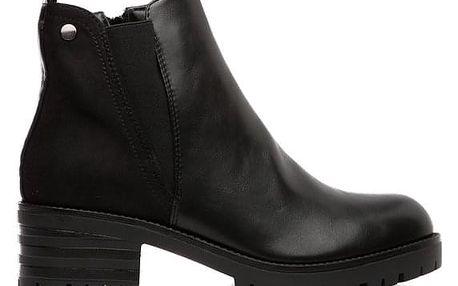 Dámské černé kotníkové boty Agueda 122