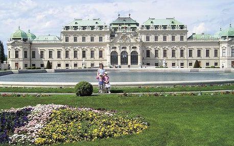 Vídeň a zámek Schönbrunn vlakem, Vídeň