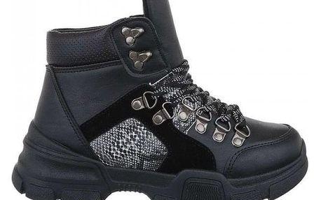 Dámské černé kotníkové boty Varys 19067