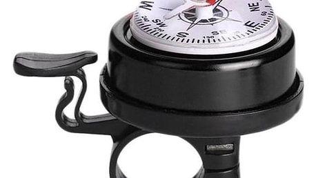 Zvonek na kolo s kompasem - dodání do 2 dnů