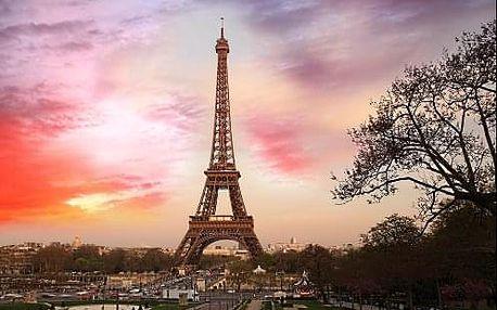 Magická Paříž i s návštěvou Eiffelovy věže. 4 denní zájezd s ubytováním a průvodcem