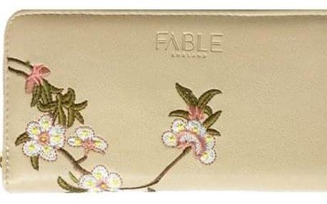 Dámská béžová peněženka Blossom 76306