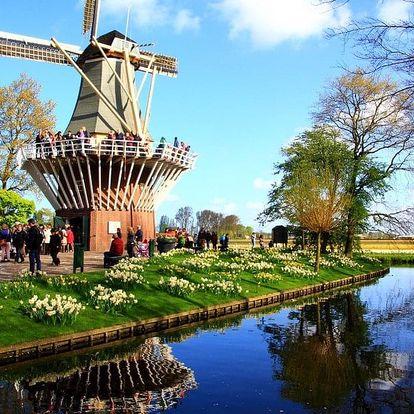 Květinový Keukenhof, Amsterdam a sýry s noclehem v hotelu se snídaní, Amsterdam