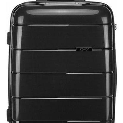 Cestovní střední černý kufr Natania 1997