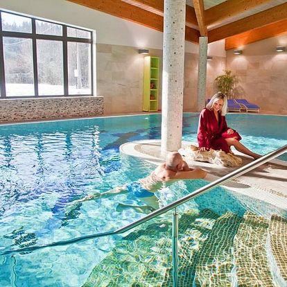 Beskydy ve 4* hotelu u Rožnova pod Radhoštěm s wellness neomezeně, polopenzí a dalšími bonusy