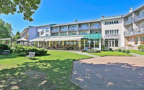 Západní Čechy v hotelu u Karlových Varů s neomezeným vstupem do relaxcentra, polopenzí a bowlingem